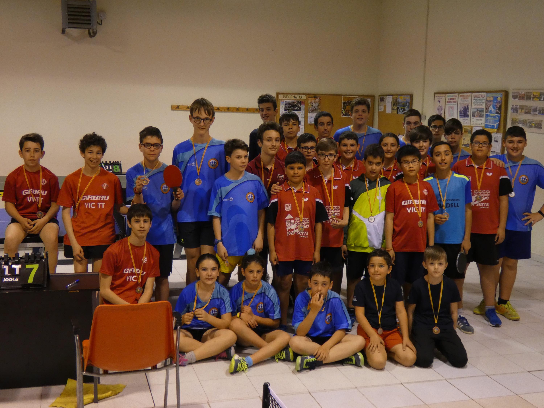 Finalitza la Lliga TTI Escolar 2019