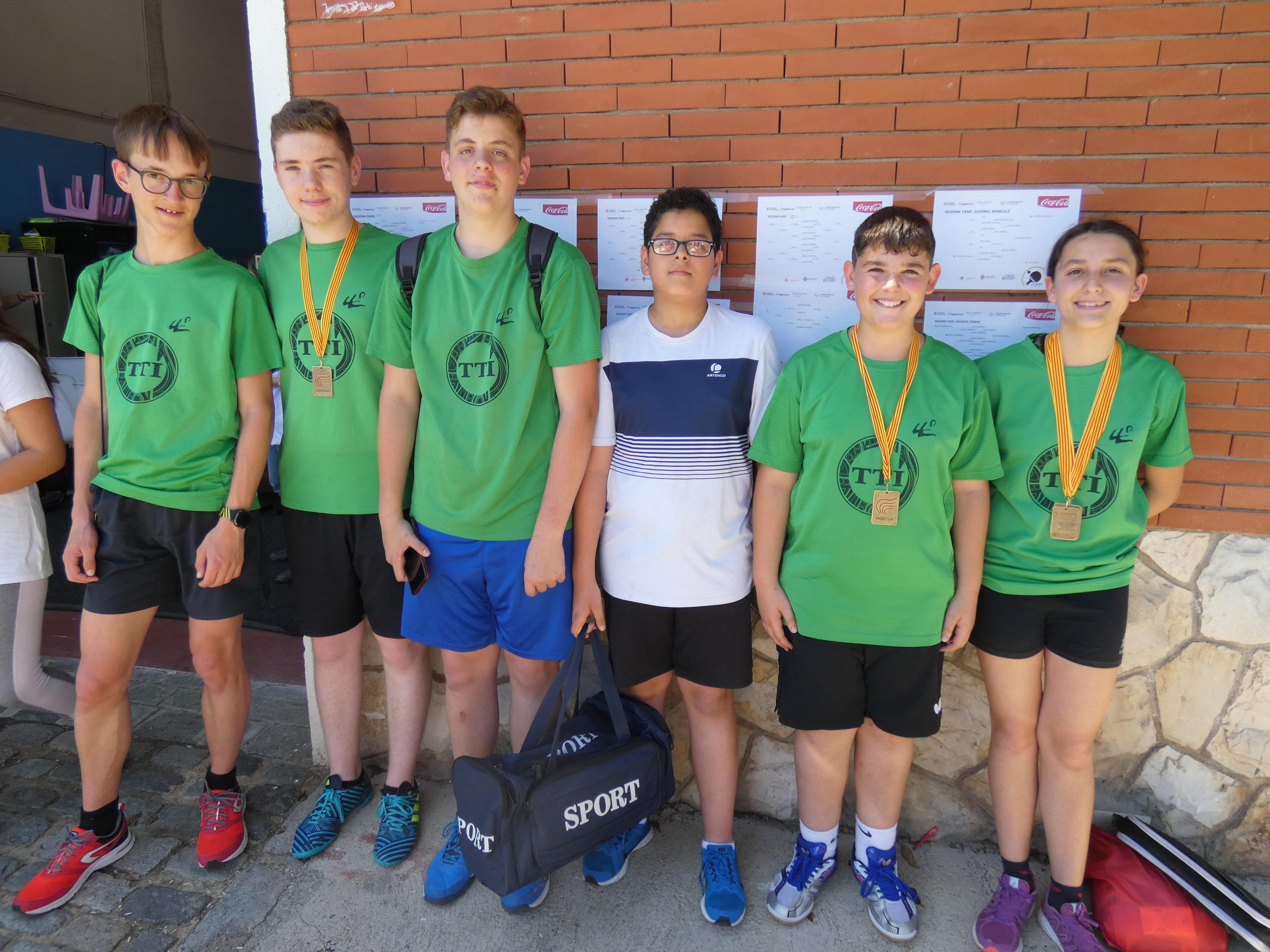 Molt bons resultats dels joves palistes TTI a la Final Nacional dels JEEC